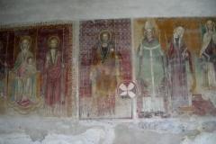 S.Giacomo della Cerreta affreschi
