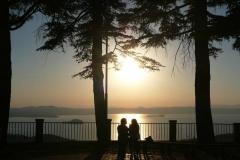 tramonto a montefiascone